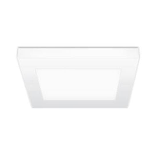 Picture of LED Indoor low-profile Light 60W Incand Equiv 15W 7 Inch Square 4000K LT.COMMERCIAL 5YR