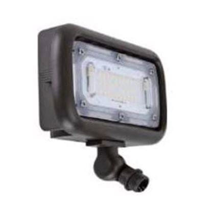 """Picture of LED Outdoor Area Floods 1/2"""" NPT Swivel Mount 30W 4K MINI FLOOD 120-277V non-dimmable 7yr"""