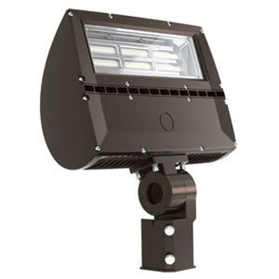 Picture of LED Outdoor Area Floods 2-3/8 INCH TENON SLIPFITTER Mount 200W FLOOD 4K 120-277V non-dimmable 5YR