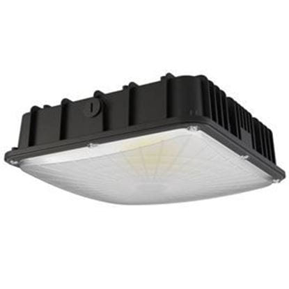 Picture of LED Indoor Outdoor Canopy/Ceiling Light 40W 4000K BLK 120-277V Light Commercial 5yr