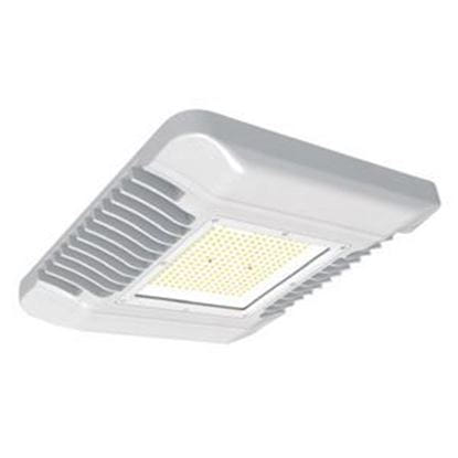 Picture of LED Indoor Outdoor LOW-PROFILE Canopy Light 75W 5000K WHT 120-277V Light Commercial 5y