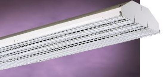 Picture of Fluorescent 4' Highbay Fixture Wire Guard for WIREGUARD FHH326 328