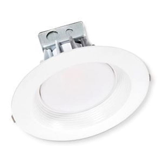 Picture of LED Retrofits Downlights 8 Inch 3000K 8IN CAN WHITE 25W 3K 0-10VDIMMABLE 7YR